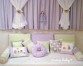 Kit cama para bab� 8 pe�as*