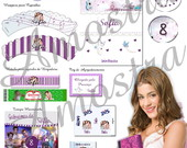 Kit Festa Digital Violetta Disney