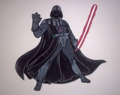 DATHER VADER DE STAR WARS C/80 CM-PAINEL