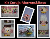 Kit Coruja 4 pe�as