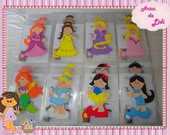 PASTAS DECORADAS PRINCESAS