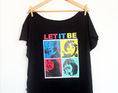 T-shirt Plus Size Let It Be