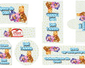 Kit Festa Digital Urso Pooh Baby