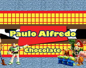 R�tulo para Chocolate Toy Story
