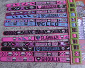 Pulseiras Monster High