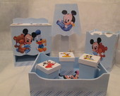 Kit HIgiene Beb� Mickey