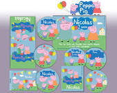 Kit Festa Peppa Pig Personal Basic