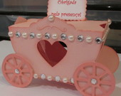 Scrap decor / carruagem princesa