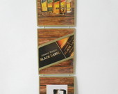 Trio de placas decorativas - Whisky