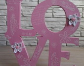 Love - 26x26 - PRONTA ENTREGA