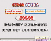 Circus Fun - Words in Portuguese