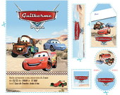 Kit Carros Disney Deserto (cr02)