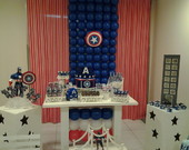 Decora��o do Capit�o America