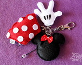 Chaveiro Mickey/Minnie