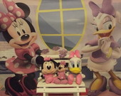 Loca��o Kit minnie rosa e mini banquinho