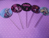 Toppers E Tags Monster High