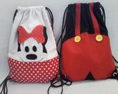 mochila minnie e mickey