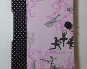 Caderno da Bailarina Costura Longstitch
