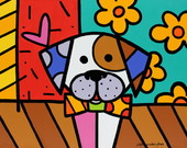1. QUADRO POP ARTE - MY DOG - (30 X 30)