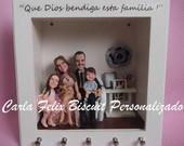 porta-chaves e quadros personalizados
