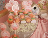 Toppers decorar doces, cupcakes
