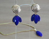 Conjunto  Azul Royal