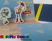 Convite pop up - Toy Story