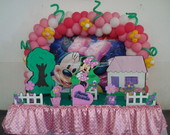 Decora��o Minnie Rosa Promo��o R$ 190