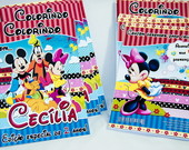 Revista de colorir Minnie e Turma Disney