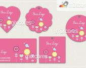 Kit Tags - Etiquetas Com Design Mod94