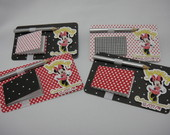 Kit Bloquinho E L�pis Minnie