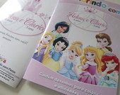 Revista Colorir Princesas Baby