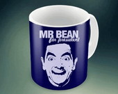 CANECA MR BEAN - FOR PRESIDENT
