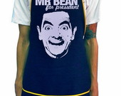 AVENTAL - MR. BEAN FOR PRESIDENT
