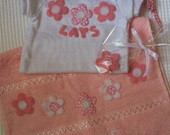 CONJUNTO FLOR DE BEB ROSA