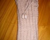 Polaina em tricot