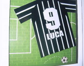 Quadro Camiseta de Futebol - Corinthians