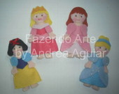 KIT CHAVEIROS PRINCESAS DISNEY