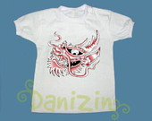 T-Shirt Beb e Infantil DRAGO TATOO
