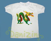T-Shirt Beb e Infantil DRAGO CHINS