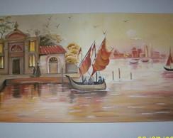 Pintura em Tela - Veneza