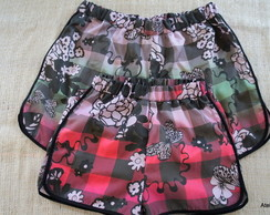 Kit Short M�e e Filha N�G,8