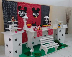 Decora��o Clean Minnie e Mickey