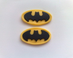 Aplique S�mbolo do Batman em Biscuit