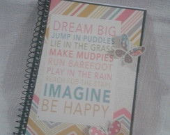 Caderno Be Happy