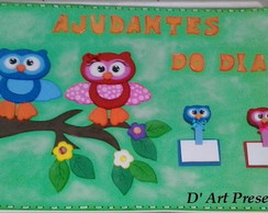 Pain�l Ajudantes do dia
