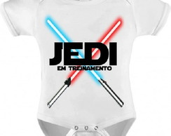 Body Beb� Star Wars Jedi Branco