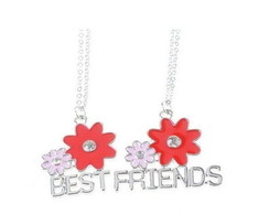 2 Colares Best Friends Flores
