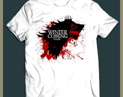 Camiseta Stark Winter Coming