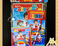 Kit Colorir Patrulha Canina
